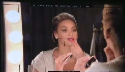 Beyonce L'Oreal and Vizio Behind The Scenes