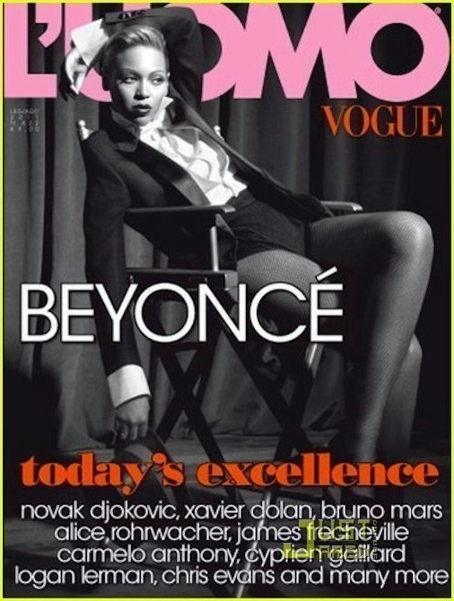 Beyonce Covers L'UOMO Vogue