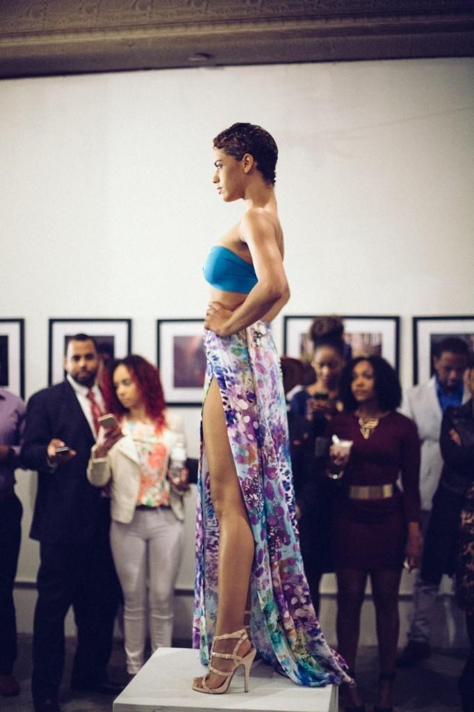 Jazzma Crofton modeling Veronica Ariel