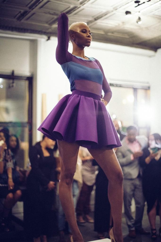 Bonnie Mae modeling Veronica Ariel