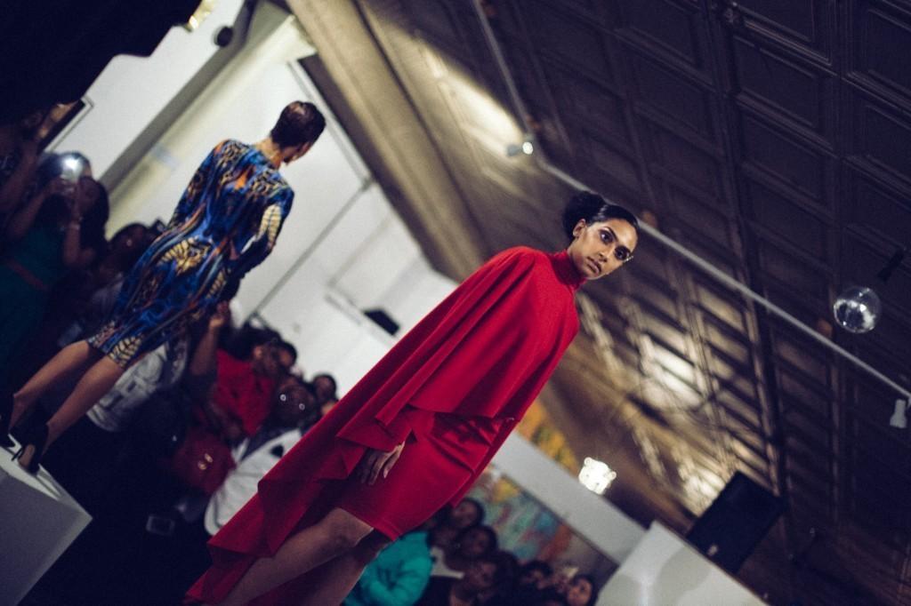 Shenna modeling Kelvin Haydon