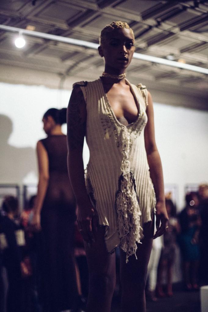 Nia Moss modeling Demi Emmir
