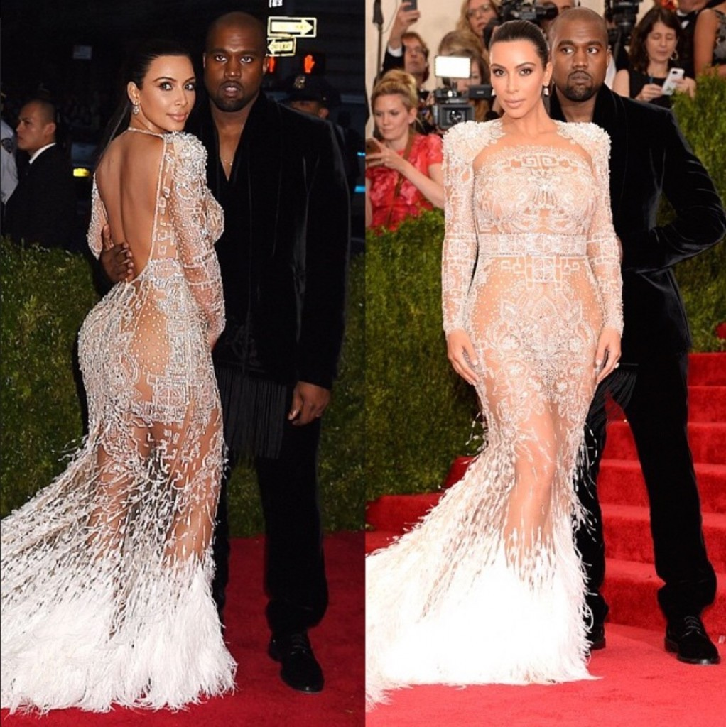 Kim And Kanye West Roberto Cavalli