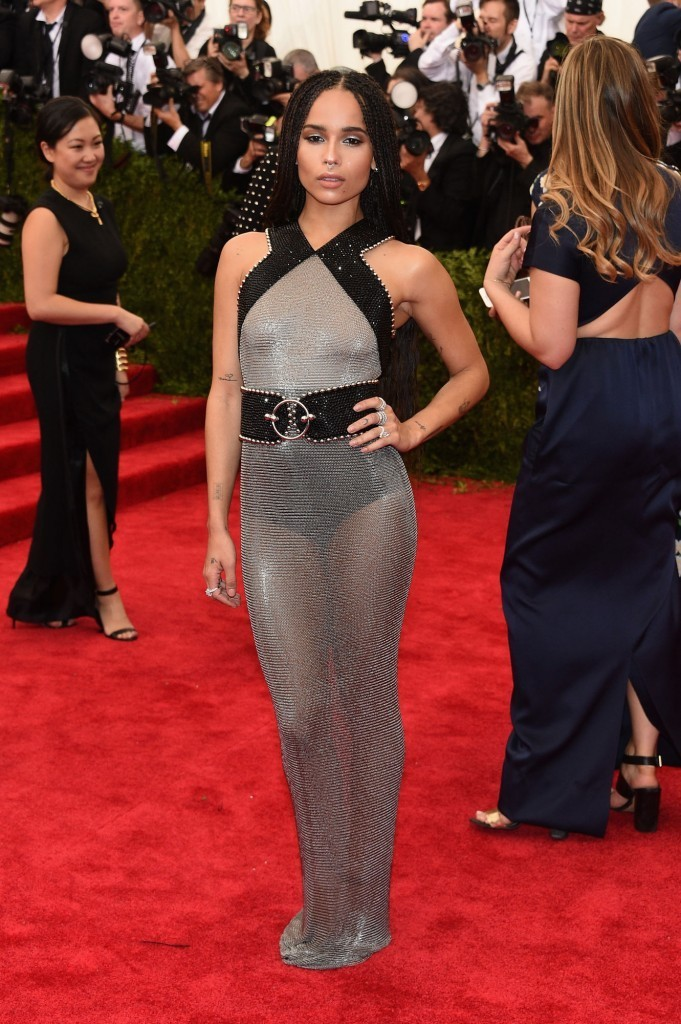 Zoe Kravitz in Alexander Wang