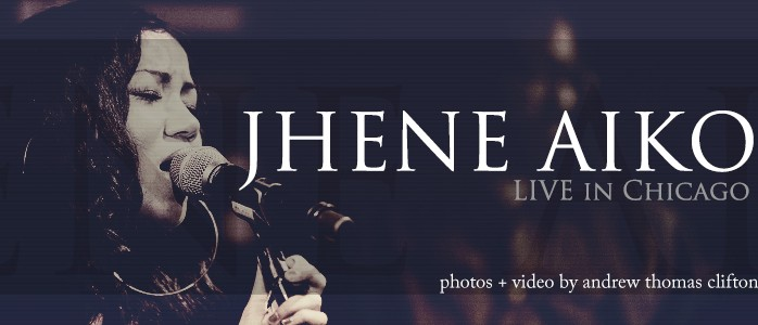 Jhene Aiko live in Chicago