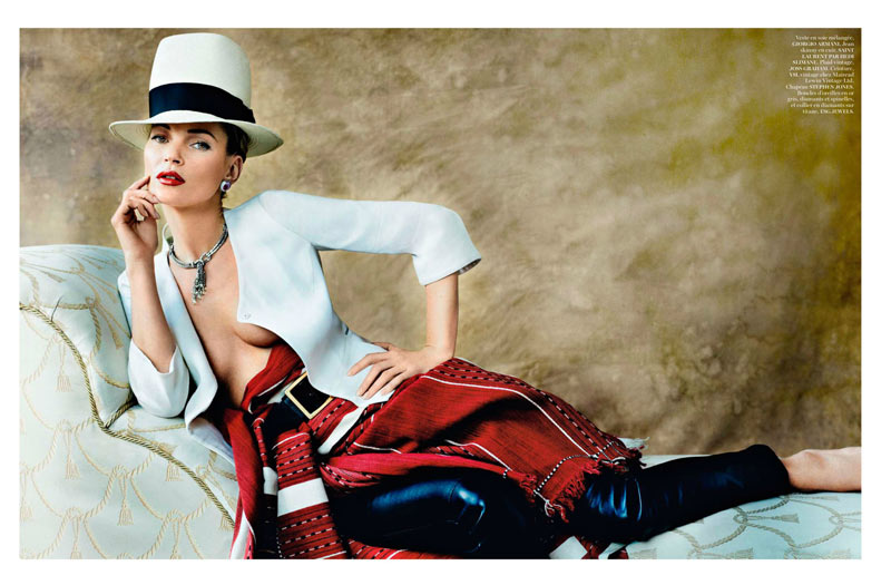 Kate Moss Pays Peruvian Homage – Vogue Paris April 2013