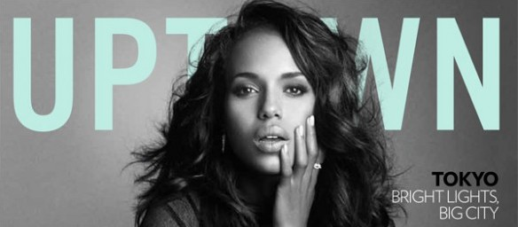 Kerry Washington covers -Uptown Magazine